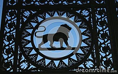 Het Detail van de leeuw