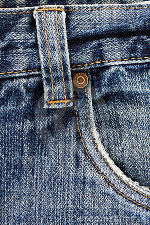 Het detail van jeans