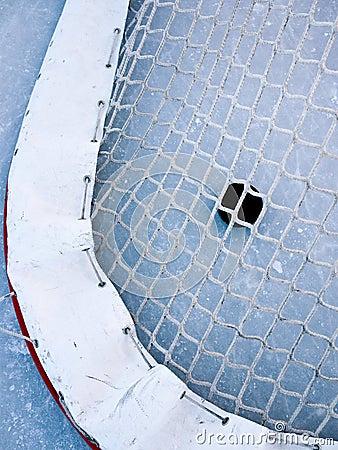 Het doel van het hockey