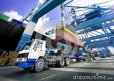 Het door:sturen van de haven