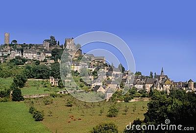 Het dorp van de heuveltop