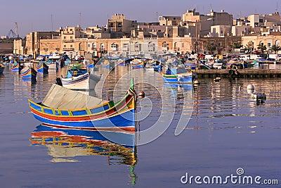 Het Dorp van de Visserij van Marsaxlokk #4