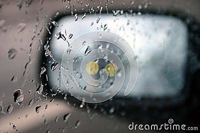 Het drijven in regen II