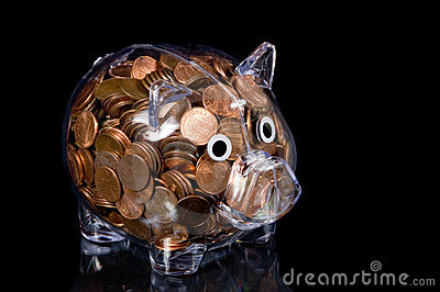 Het duidelijke hoogtepunt van het Spaarvarken van Amerikaanse Pence