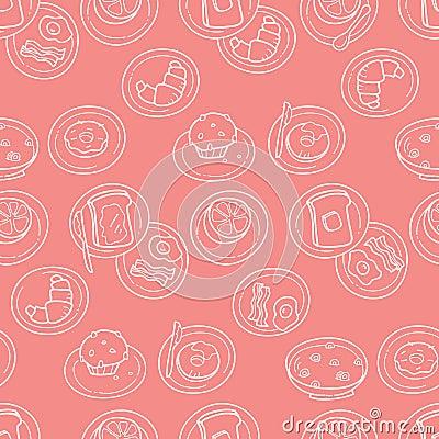 Het eenvoudige Patroon van het Ontbijt