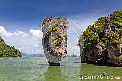 Het Eiland van James Bond in Thailand