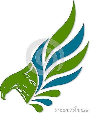 Het embleem van de adelaar