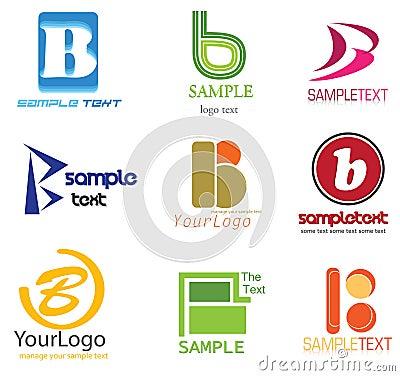 Het Embleem van de brief B