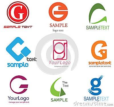 Het Embleem van de brief G