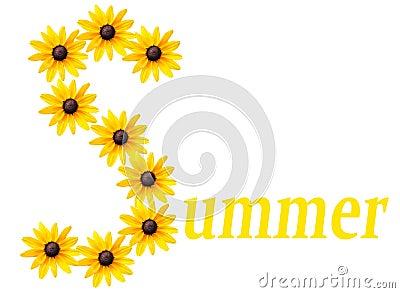 Het embleem van de zomer