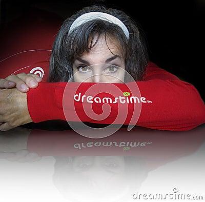 Het embleem van Dreamstime