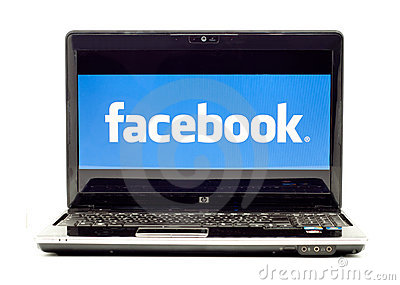 Het Embleem van Facebook Redactionele Afbeelding