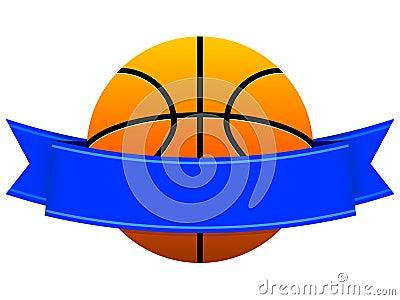 Het Embleem van het basketbal
