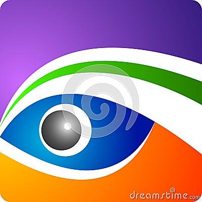 Het embleem van het oog