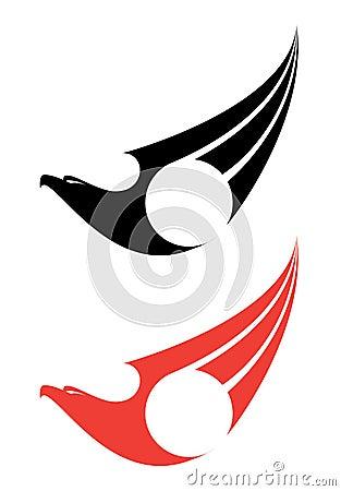 Het etiket van Eagle