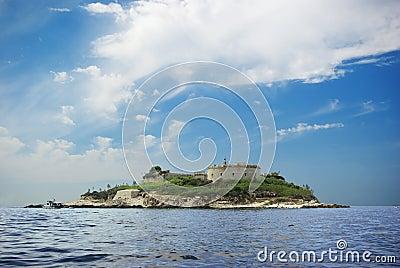 Het Fort van het eiland
