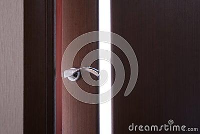 Het fragment van de deur