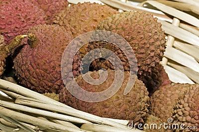 Het fruit van het litchi