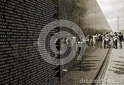 Het Gedenkteken van de Oorlog van Vietnam