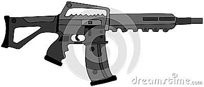 Het geweer van de aanval