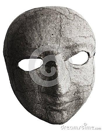 Het gezicht van het masker