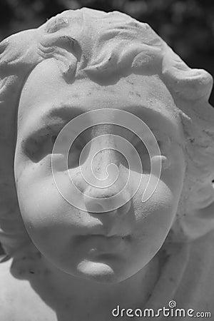 Het Gezicht van het standbeeld