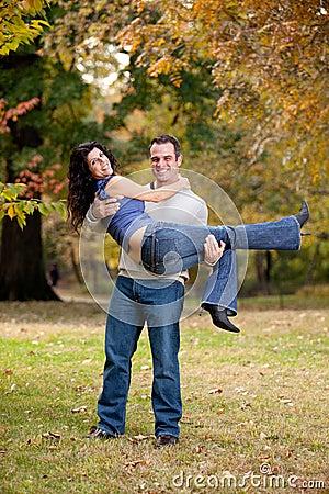Het gezonde Paar van de Verhouding