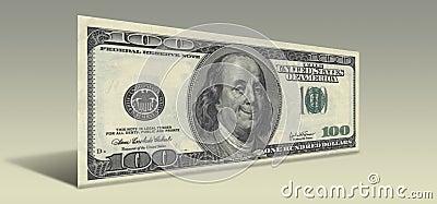 Het glimlachen Ben Franklin