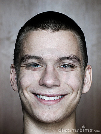 Het glimlachen gezicht