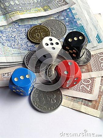 Het gokken voorwerpen