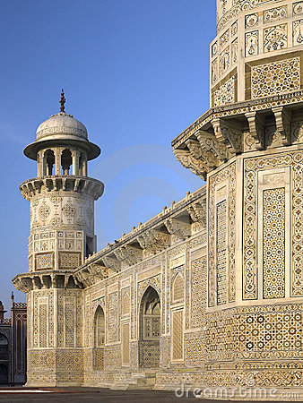 Het Graf van Ud Daulah van Itimad - Agra - India