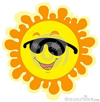 Het grappige beeldverhaal van de Zon