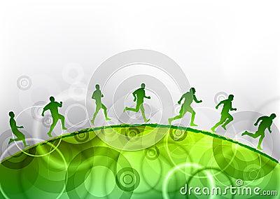 Het groene lopen