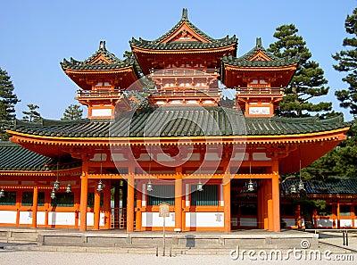 Het Heiligdom van Heian