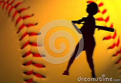 Het honkbal voegt toe