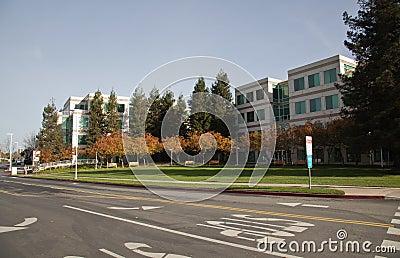 Het Hoofdkwartier van Apple Inc Redactionele Stock Afbeelding