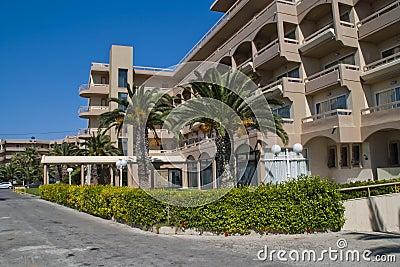 Het hotel van Sunbeach