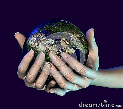 Het houden van de wereld