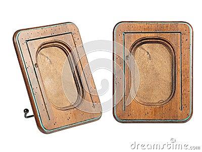 Oud-manier houten kader