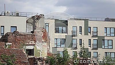 Het huis Kazan, Bauman St, 34 Tatarstan, Rusland van Shchetinkin stock videobeelden
