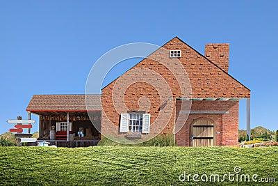 Het huis van de familie