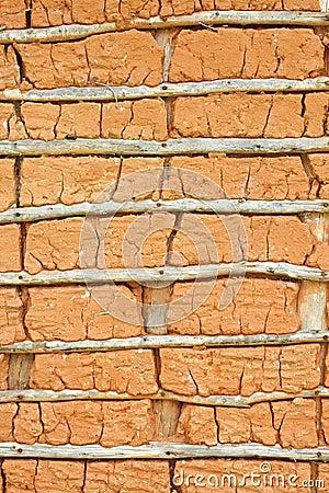 Het huis van de modder (Textuur)