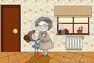 Het huis van de oma