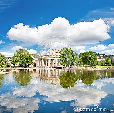 Het Huis van de opera, Stuttgart, Duitsland