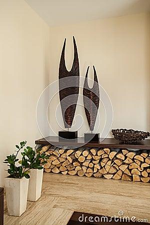 Woonkamer decoratie wand for Decoratie woonkamer