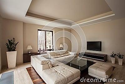 Het huis van de travertijn moderne woonkamer stock foto afbeelding 28142430 - Fotos van moderne woonkamer ...