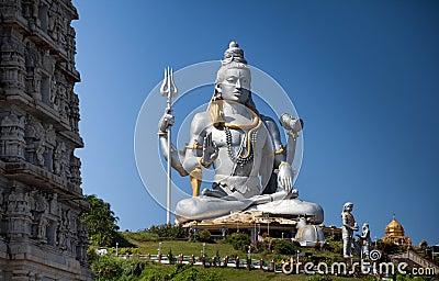 Het idool van Lord Shiva