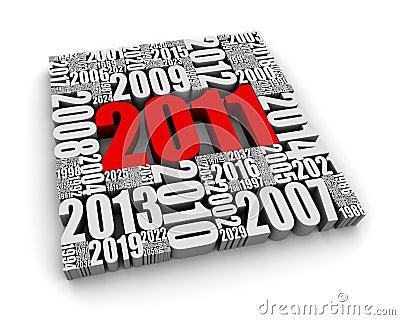 Het jaar 2011
