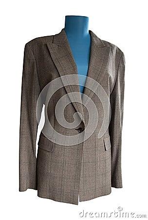 Het jasje van de tweed