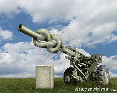Het Kanon van de artillerie